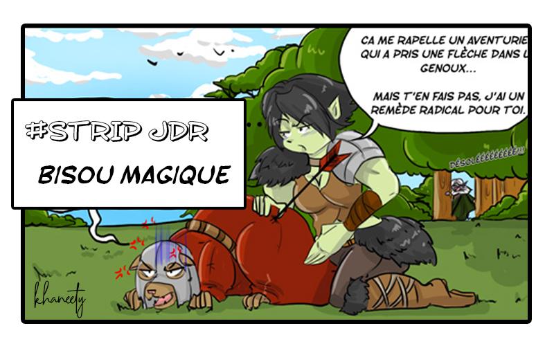 BD jeu de rôle Bisou magique- By khaneety, Nem and the city